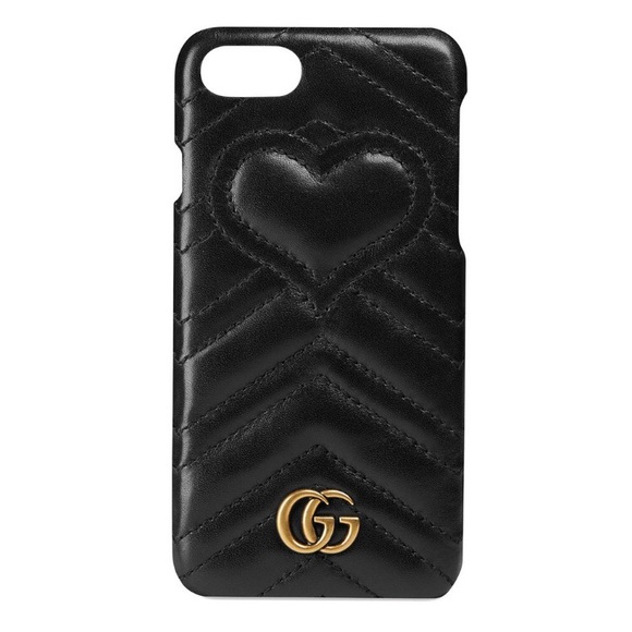 7abdfc1df228 Gucci Accessories | Gg Marmont Iphone 78 Phone Case In Black | Poshmark
